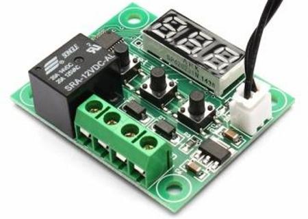 Termostato digital para controlar la temperatura de - Termostato digital precio ...