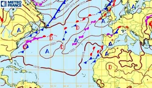 La Meteo Leer Los Mapas De Meteo Meteorologia