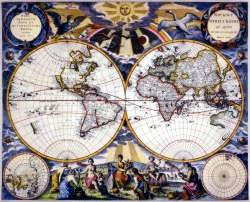 Curva trazada sobre una superficie esférica que forma ángulos iguales con todos los meridianos